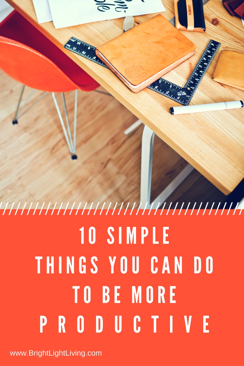 Tips to be Productive, Achieving Goals, Making Life Change to Achieve Success
