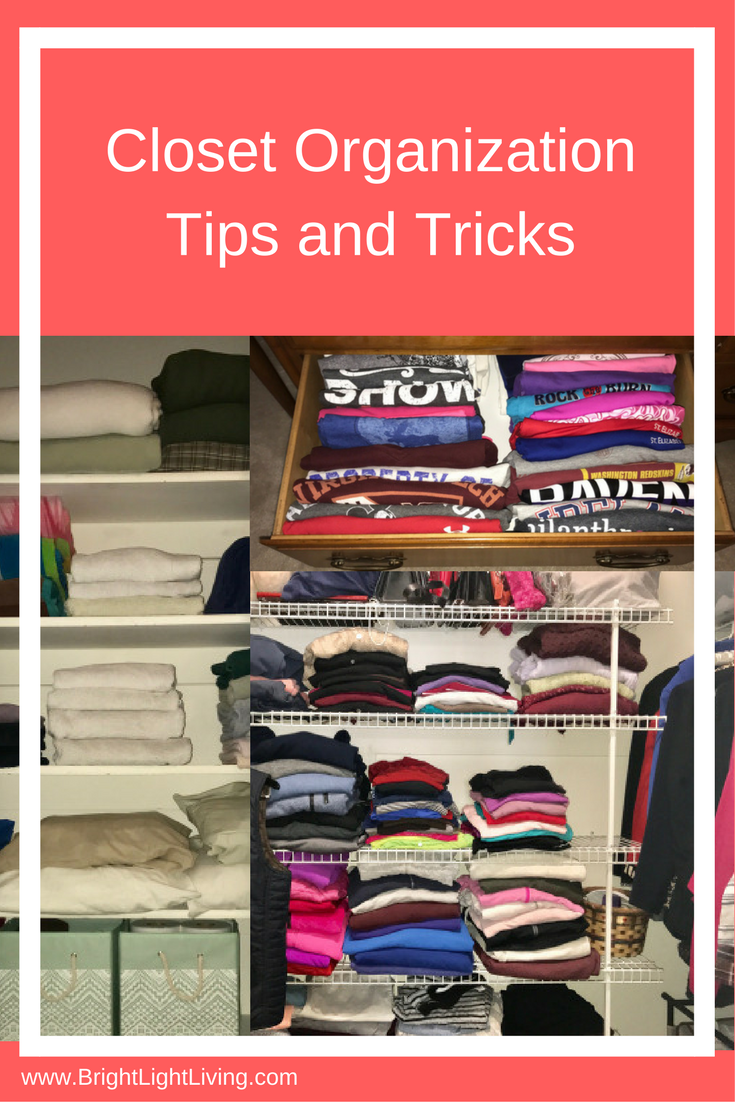 Tips And Tricks For Being Organized: The Closet Collection: Getting Organized
