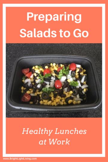 Making Salads to Go